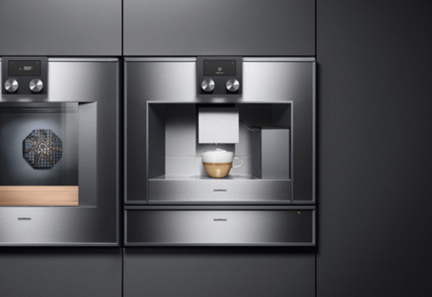 Series 400 espresso machine by Gaggenau  STYLEPARK