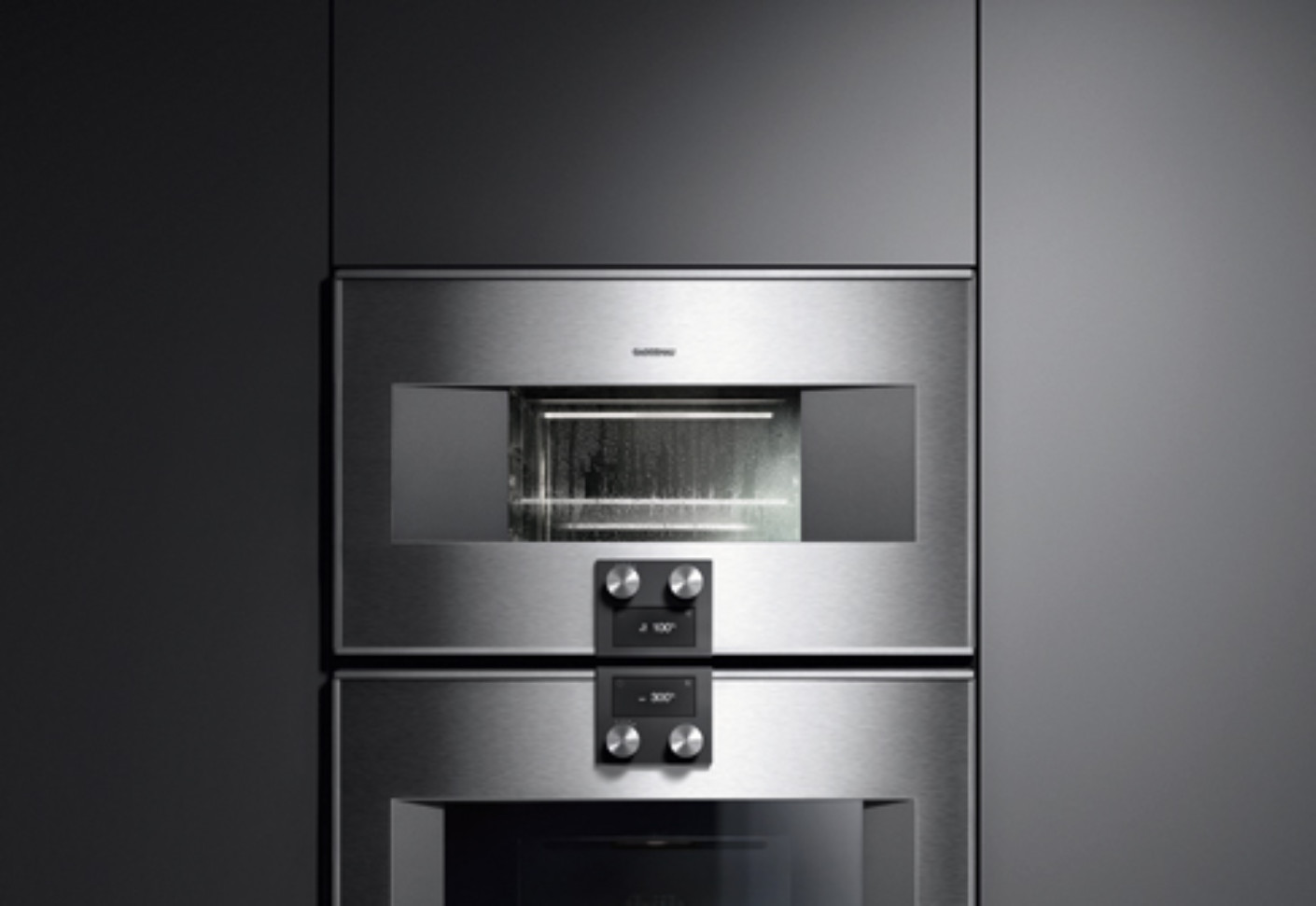 kitchen and bath design center island table with stools series 400 steam oven by gaggenau | stylepark