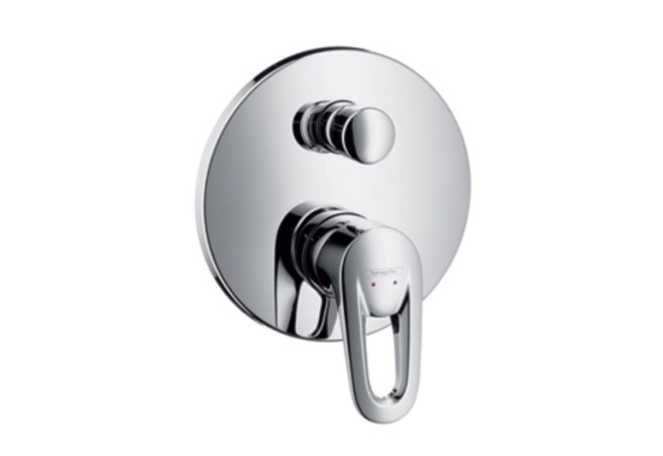 Metropol Single Lever Bath Mixer Dn15 Concealed Installation Hansgrohe Stylepark