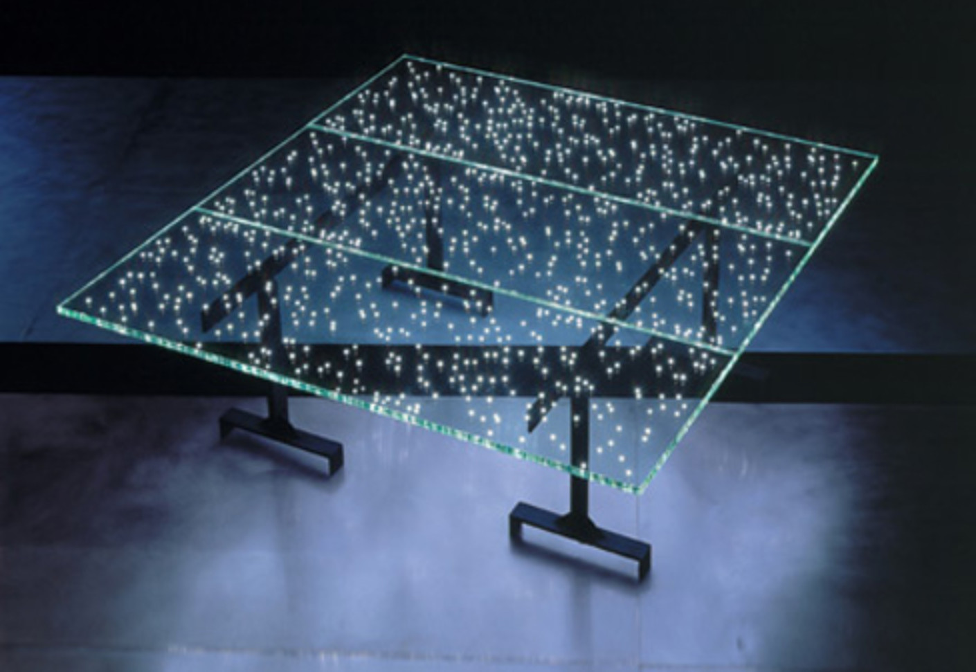 led table and chairs high top patio by ingo maurer stylepark