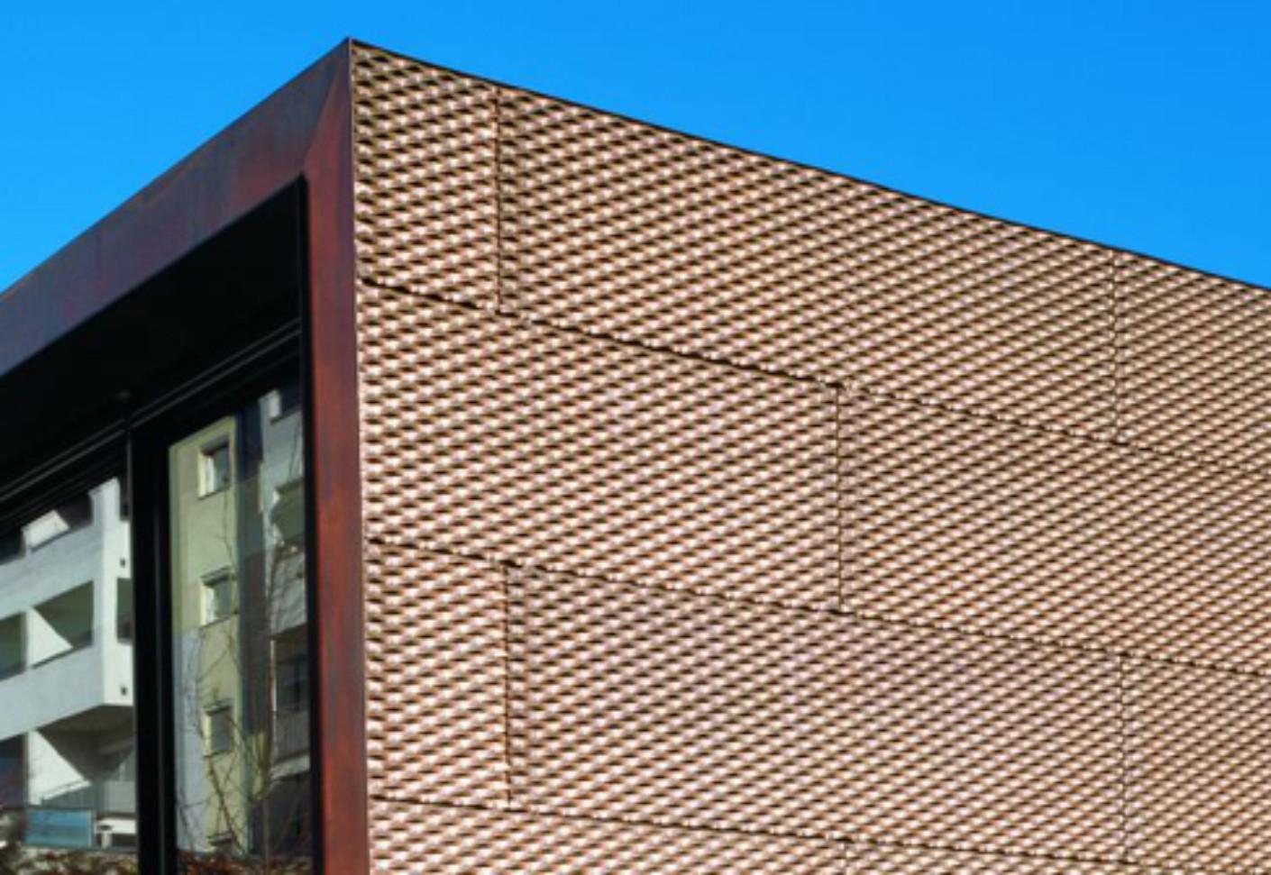 TECU BRONZE Perforated Plate by KME  STYLEPARK