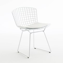 Bertoia Style Chair Bright Colored Desk Chairs Side By Knoll Stylepark