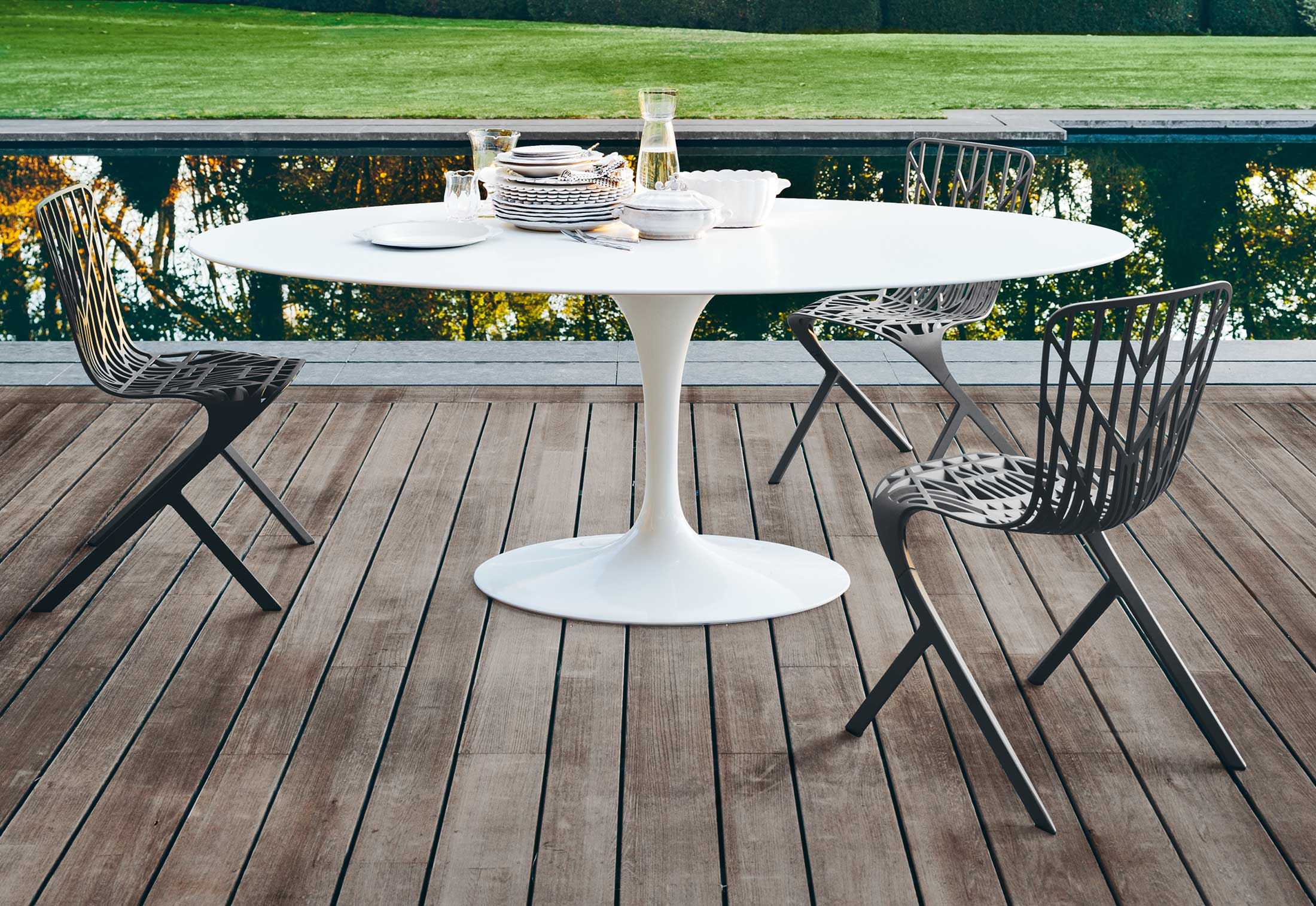 washington skeleton chair wood table and chairs by knoll stylepark