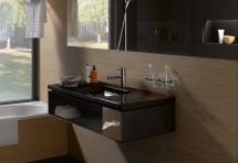 Living Square Vanity Unit Hotel With Tissue Box