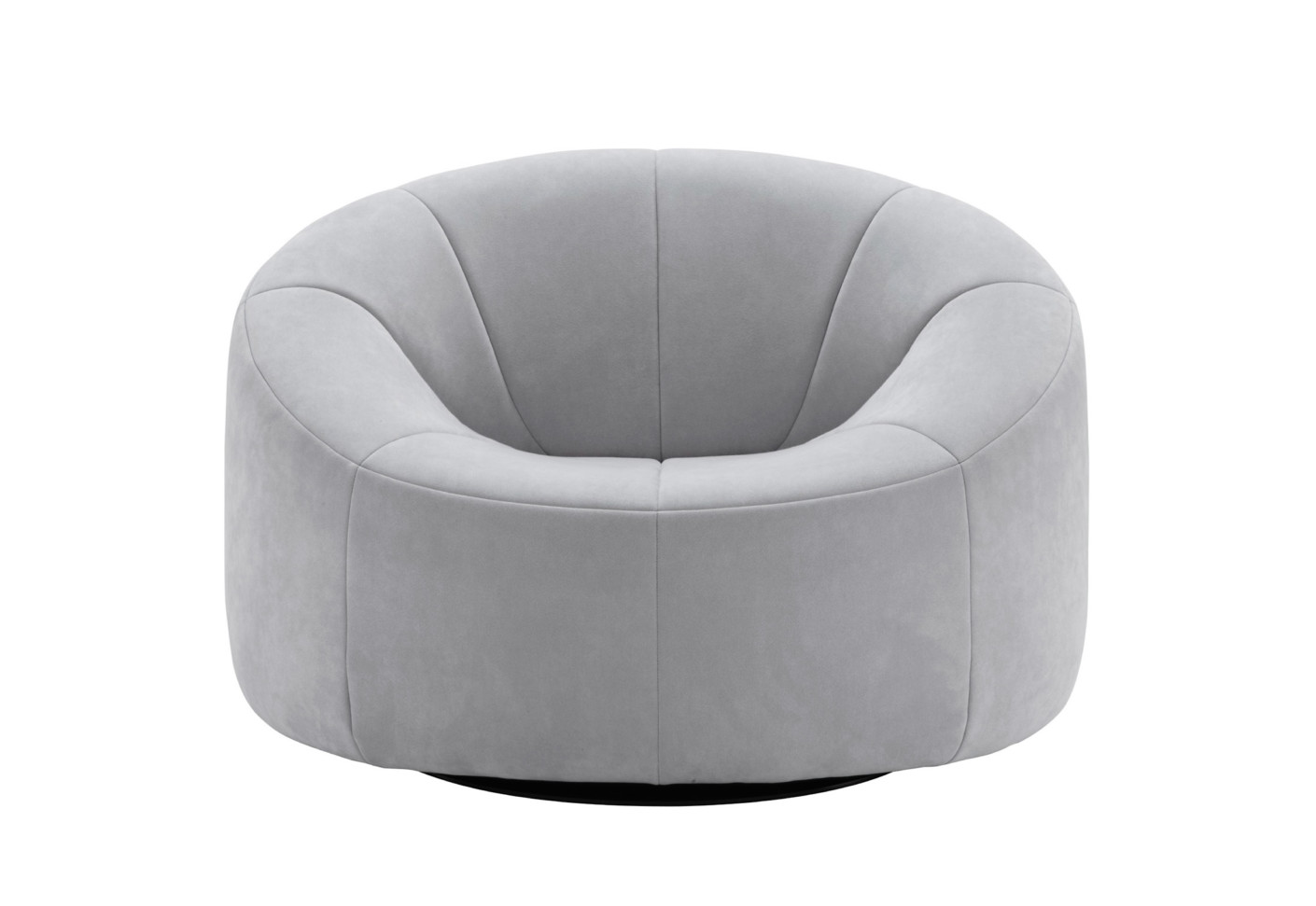 swivel chair outdoor oversized white pumpkin armchair by ligne roset | stylepark
