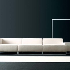 Living Room Furnishings Interior Design Modern Wall2 Sofa By Divani | Stylepark