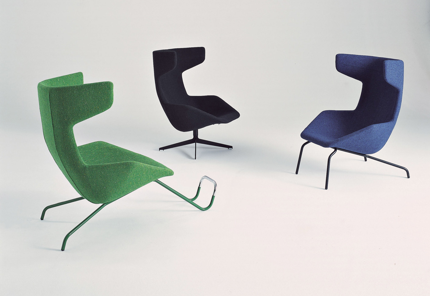Take A Line For A Walk Swivel chair by Moroso  STYLEPARK