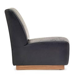 Brown Leather Slipper Chair Jesus Has A Rocking By Neutra Vs Stylepark