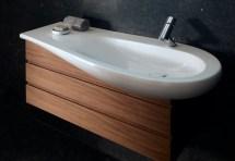Il Bagno Alessi Single Washbasin Under Counter