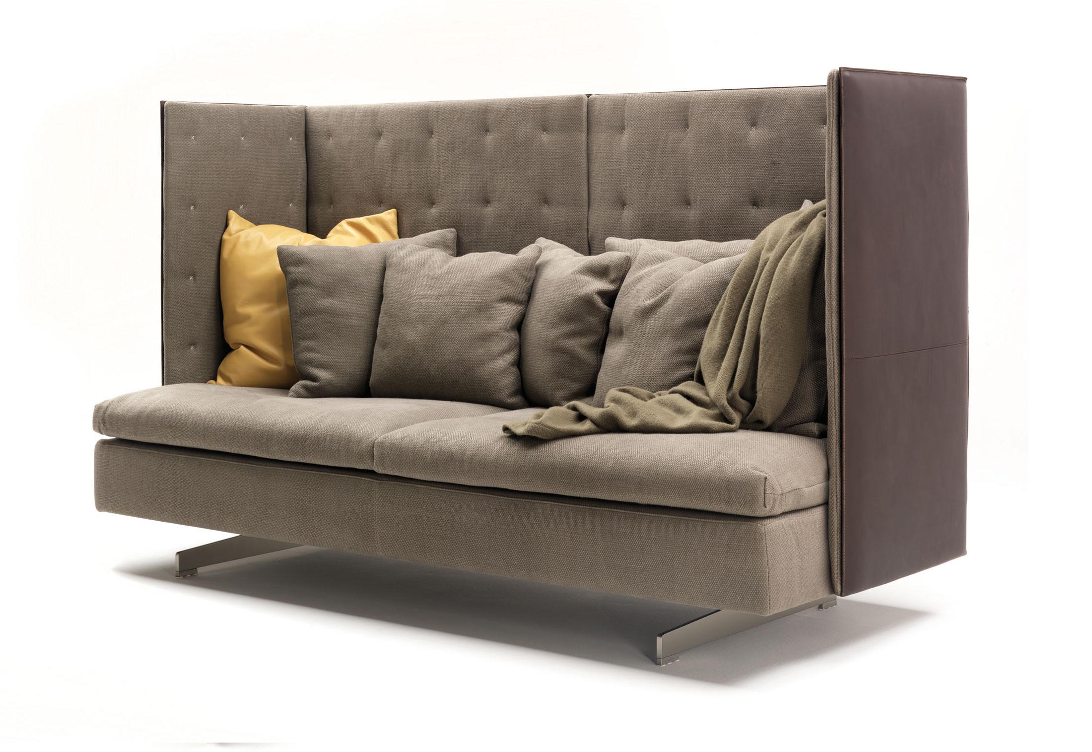 grantorino high back sofa by poltrona