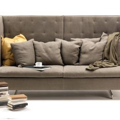 High Back Sofa And Loveseat Futon Bed Chicago Grantorino By Poltrona Frau Stylepark