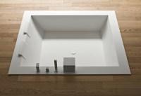 Quadratische Badewanne | Energiemakeovernop
