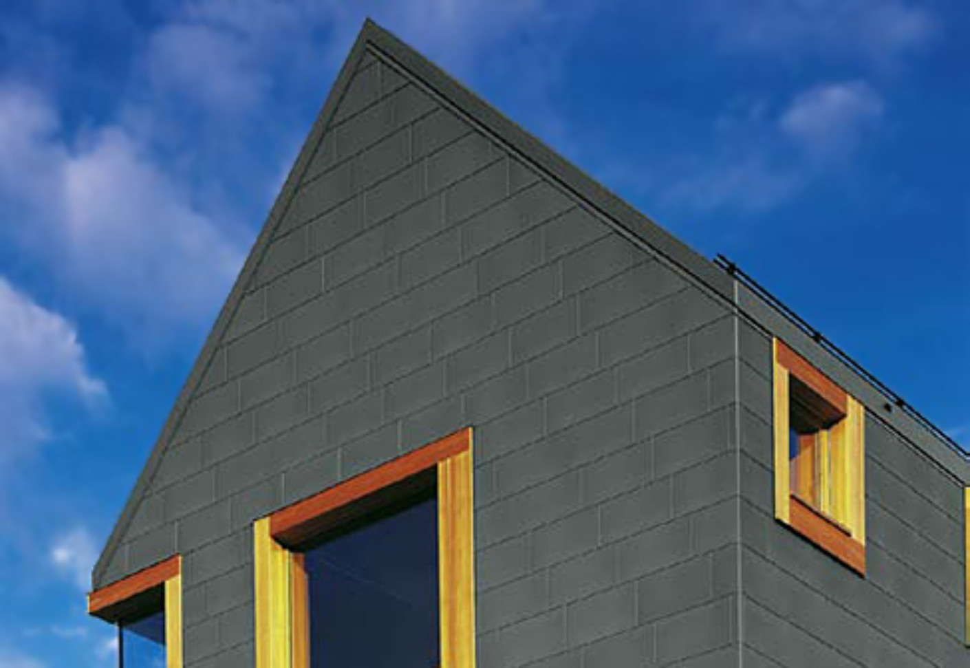 Tile Systems Pre Weathered Pro Graphite Grey By Rheinzink STYLEPARK