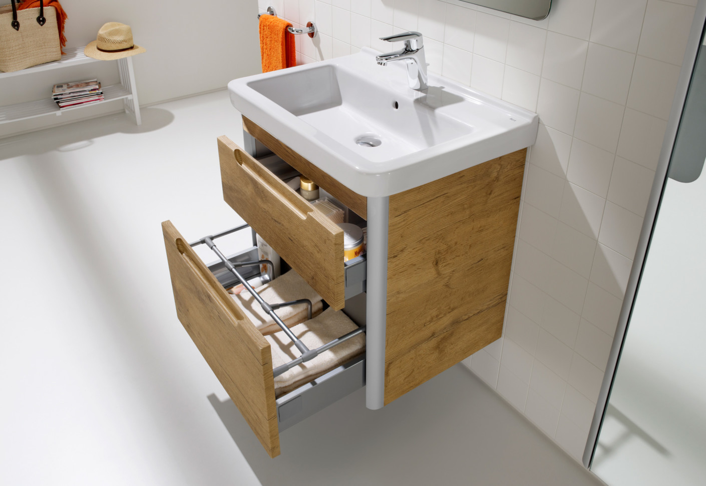 Muebles Baño Roca Outlet Dama Wash Basin With Vanity Unit By Roca Stylepark