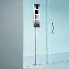 Kitchen Swivel Chairs Unique Designs Steel Intercom System Glass Mounted By Siedle | Stylepark