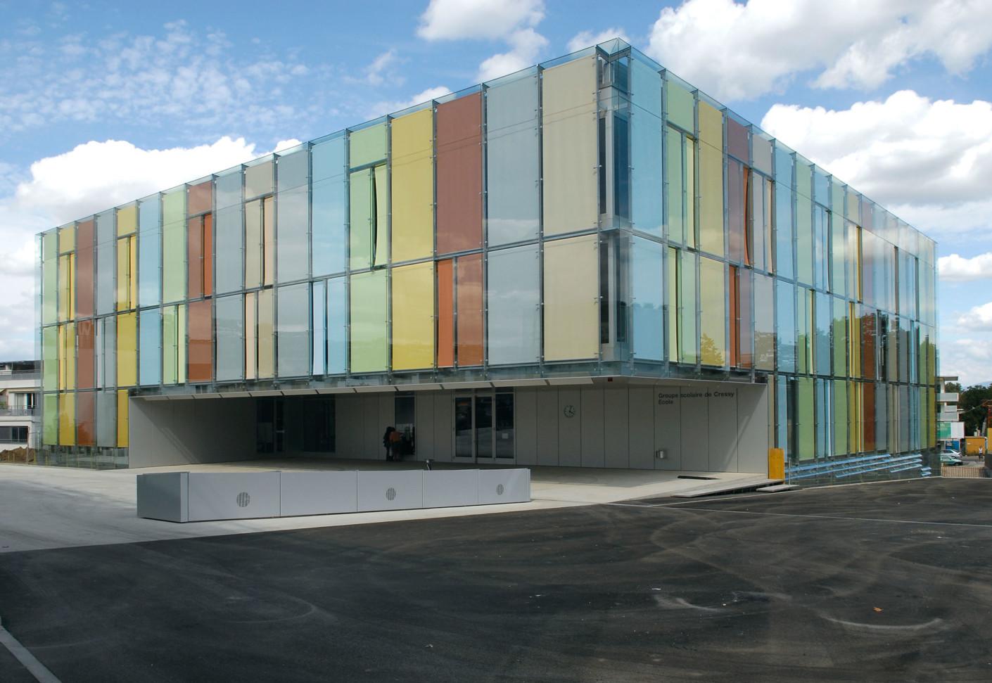 Soltis 92 Cressy School Geneve Switzerland by Serge