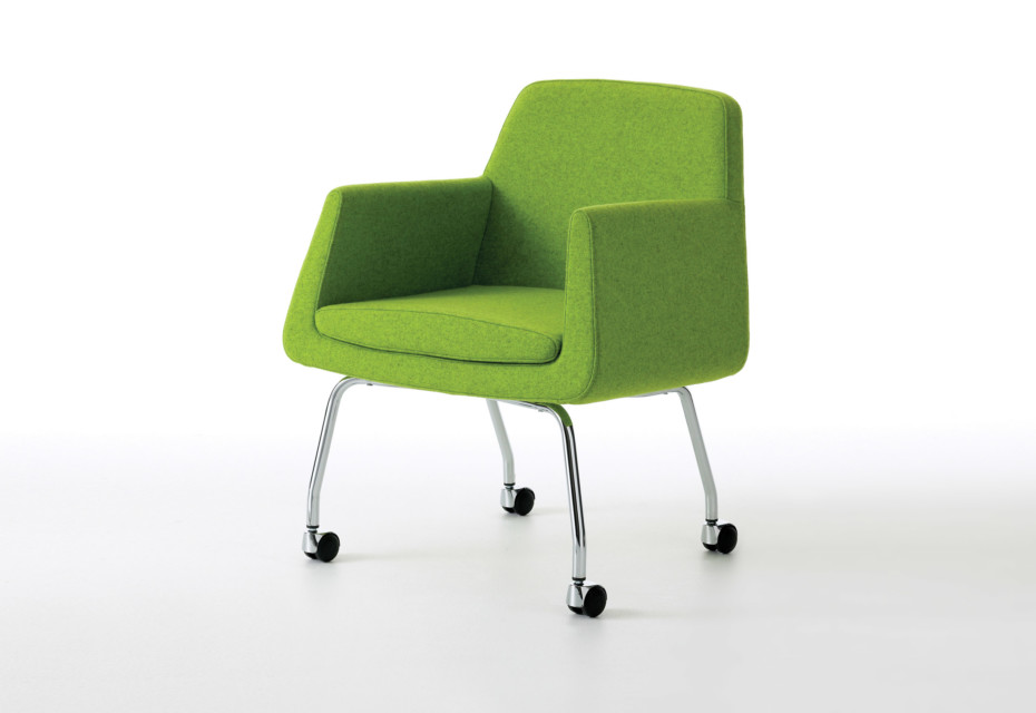 chair on wheels lycra covers nz jefferson easy by skandiform stylepark