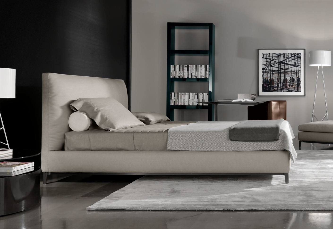 Andersen Bed by Minotti  STYLEPARK