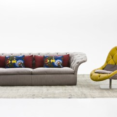 Chaise Longue Fabric Sofa Cotton Linen Sofas Bohemian By Moroso | Stylepark