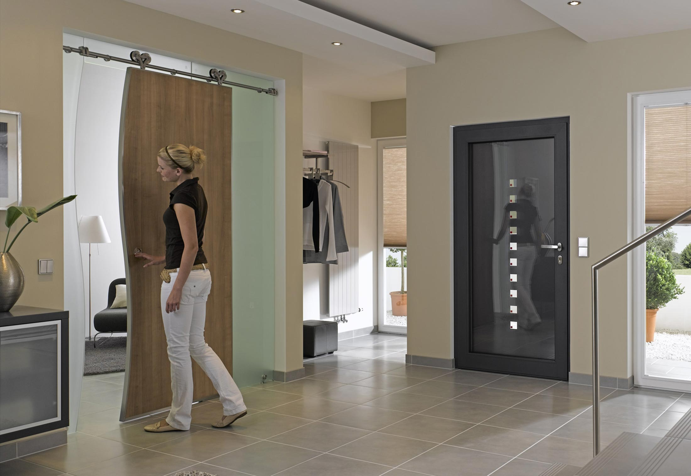 Duplex S Sliding Door System By Mwe Stylepark