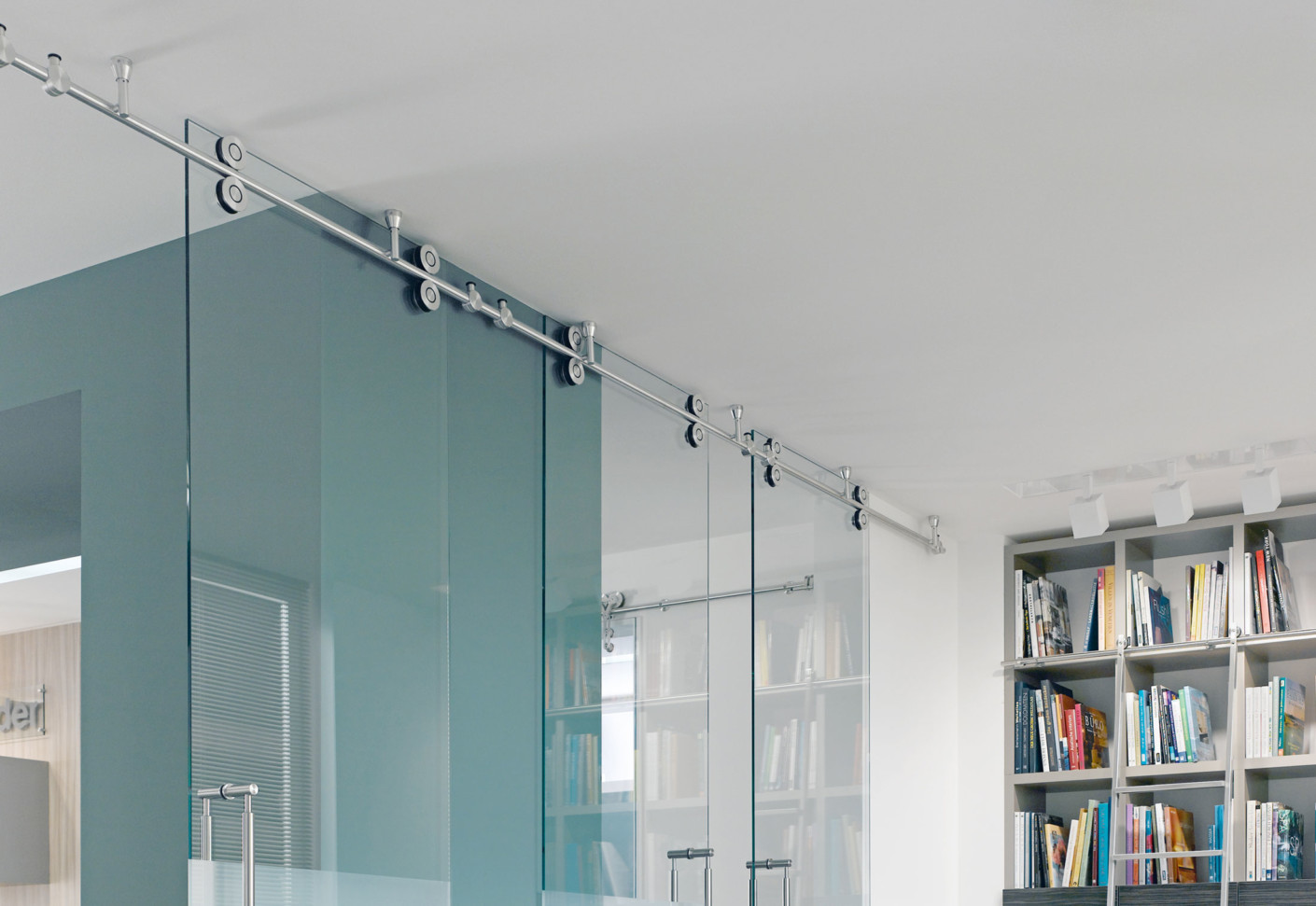 Twin Sliding Door System by MWE  STYLEPARK
