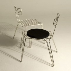 Wire Dining Room Chairs Chair Table Design By Tom Dixon Stylepark