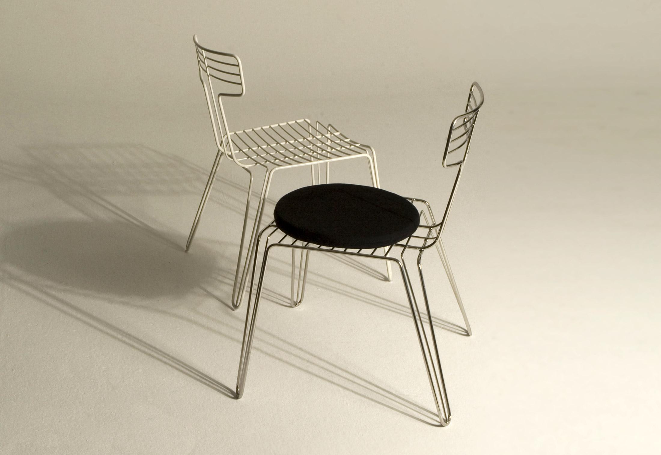 Wire Dining Chair von Tom Dixon  STYLEPARK