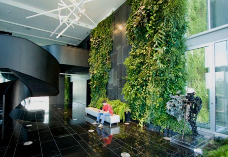 Interior Design: Interior Garden Room Design. Indoor Wall Natura Towers By Vertical Garden Design Desktop Interior Room Design For Androids Hd