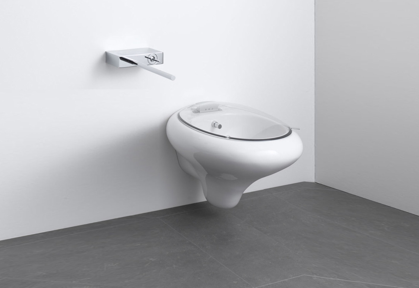 Istanbul wallhung bidet by VitrA Bathroom  STYLEPARK