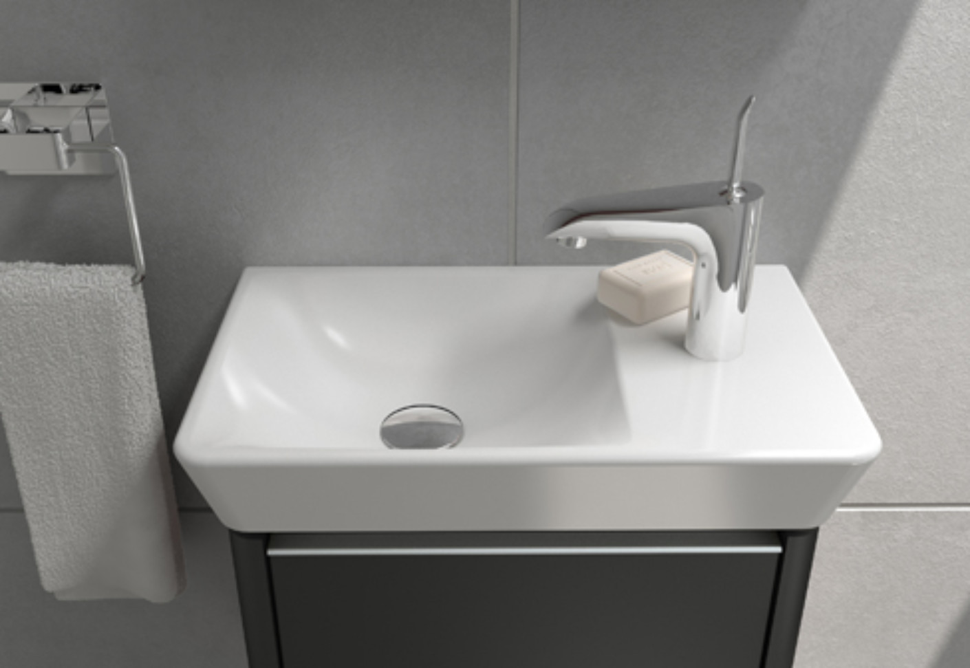 T4 hand washbasin by VitrA Bathroom  STYLEPARK
