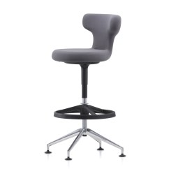 High Desk Chair Ergonomic Cushion Pivot Office By Vitra Stylepark
