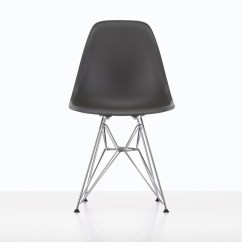 Eames Style Plastic Chair Outdoor Cafe Table And Chairs Side Dsr By Vitra Stylepark