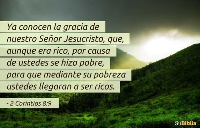 2 Corintios 8:9