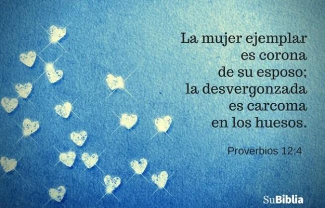 Proverbios 12:4