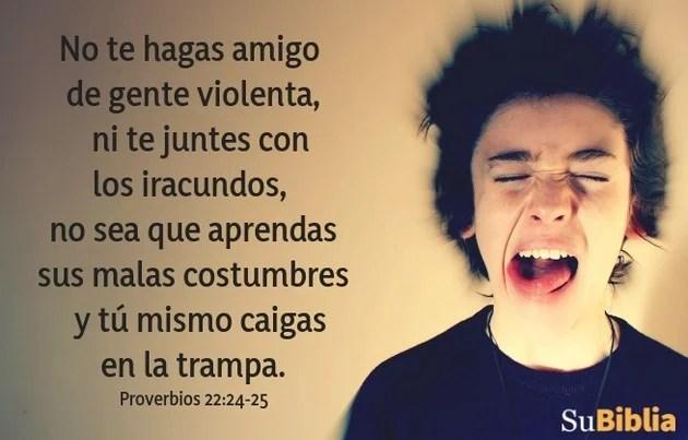 Proverbios 22:24-25