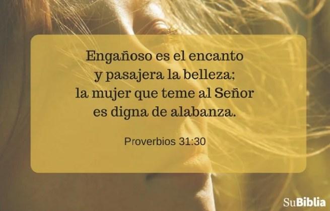 Proverbios 31:30