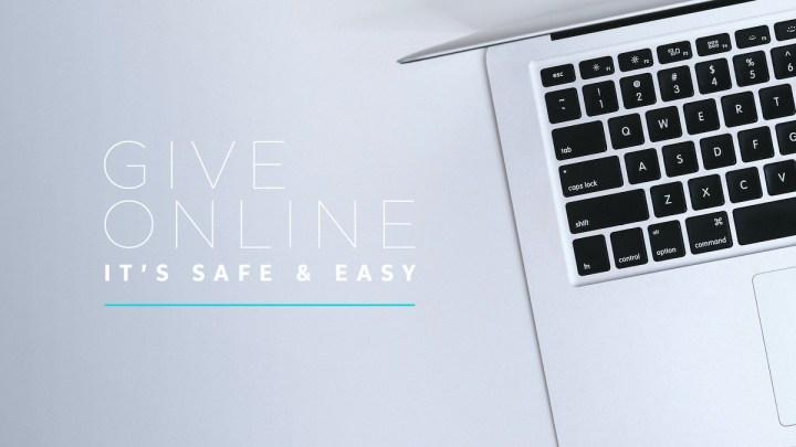 Give Online It's Safe And Easy Blue Line Laptop-Subtitle.jpg