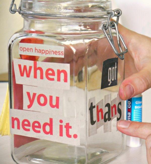 Make a Gratitude Jar for Thanksgiving   Make and Takes