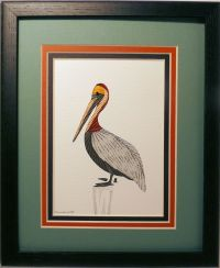 Quilled Pelican wall art handmade - Quilling by Sandra ...