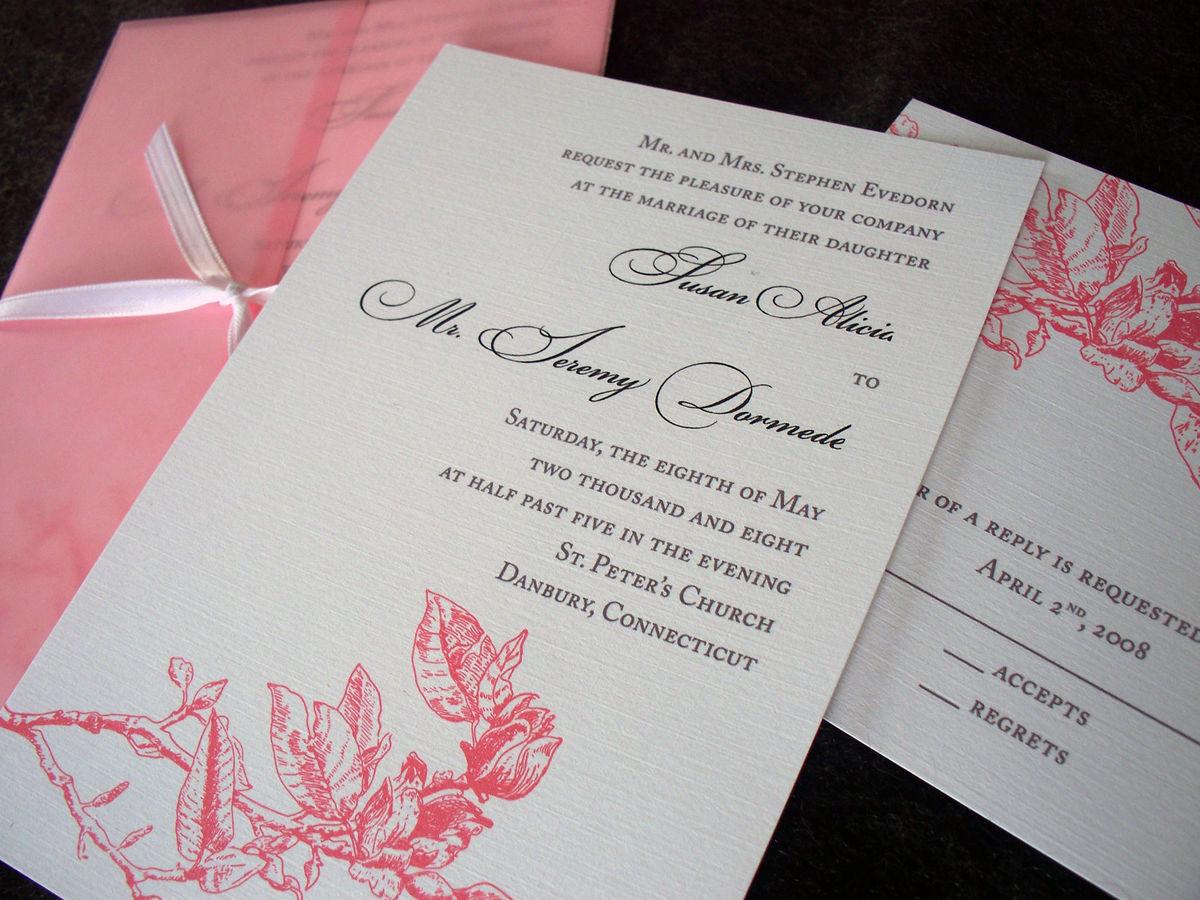 Atlanta  Wedding Invitation Sample  Tulaloo