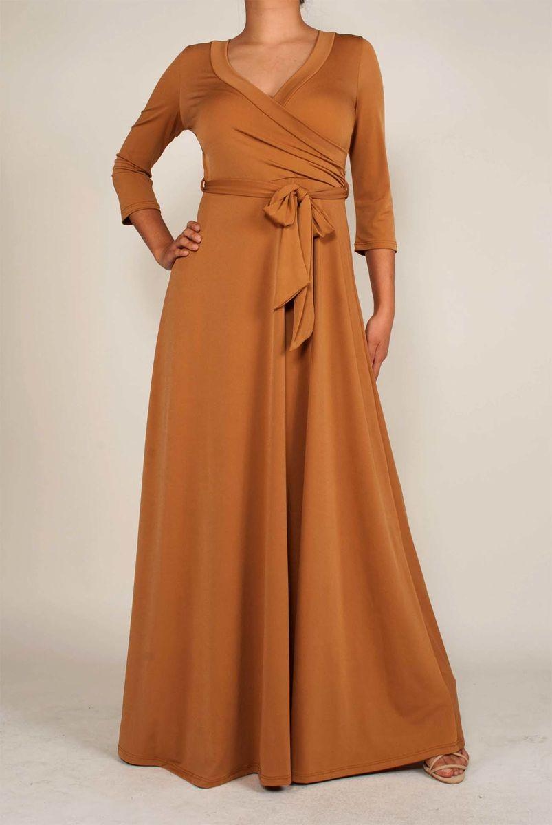 Dark Mustard Maxi Dress