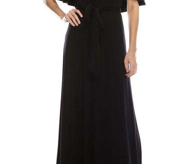 Off The Shoulder Halter Neck Maxi Dress Product Images Of