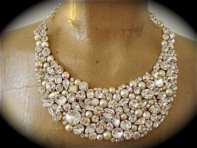 Pearl Mosaic Bridal Jewelry Collection  The Crystal Rose Bridal Jewelry and Accessories