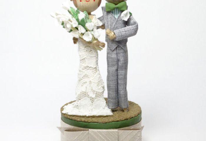 Custom Wedding Cake Topper The Small Object