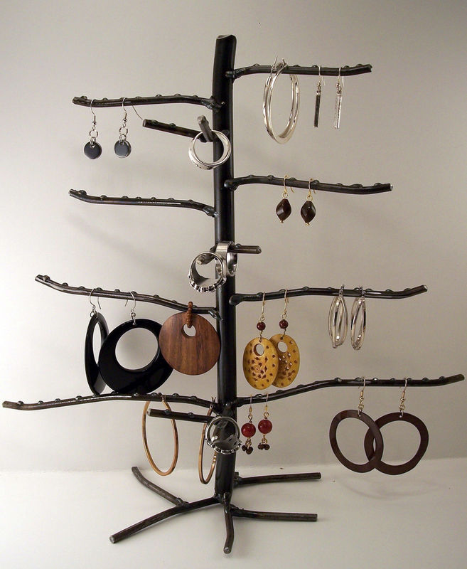 Small Earring And Ring Tree Earring And Ring Display