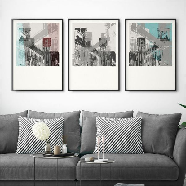 Set Of 3 Wall Art Prints Collection - Bronagh Kennedy