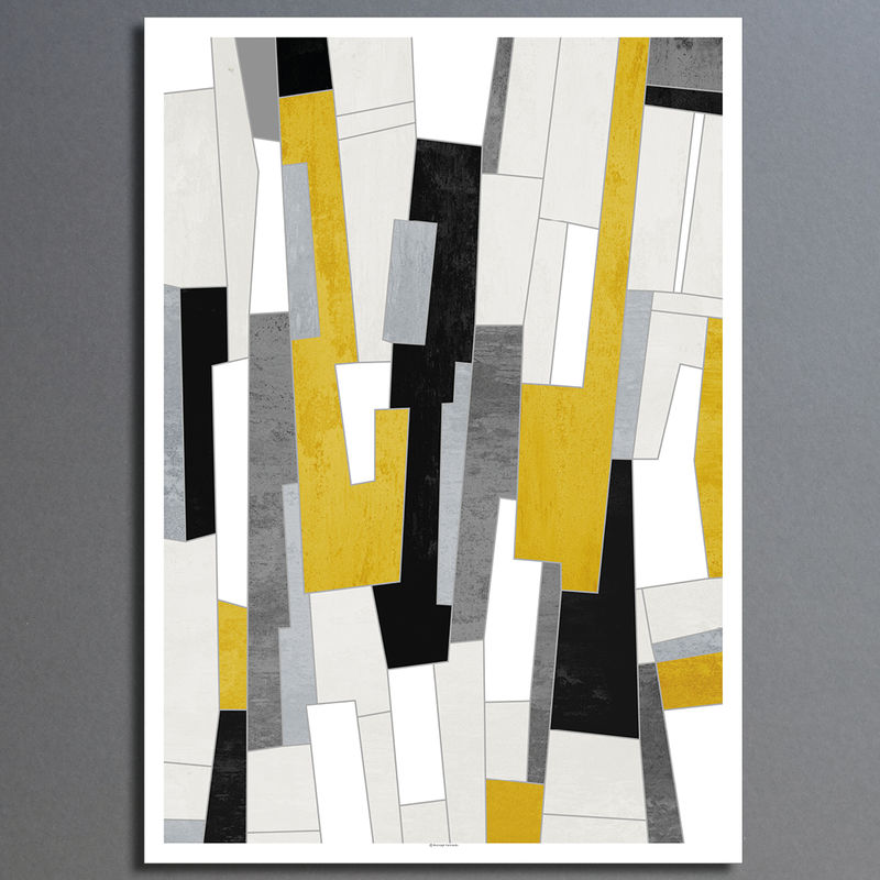 large abstract art prints