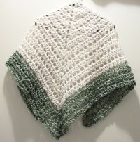 Triangle Prayer Shawl Crochet Pattern ~ Dancox for