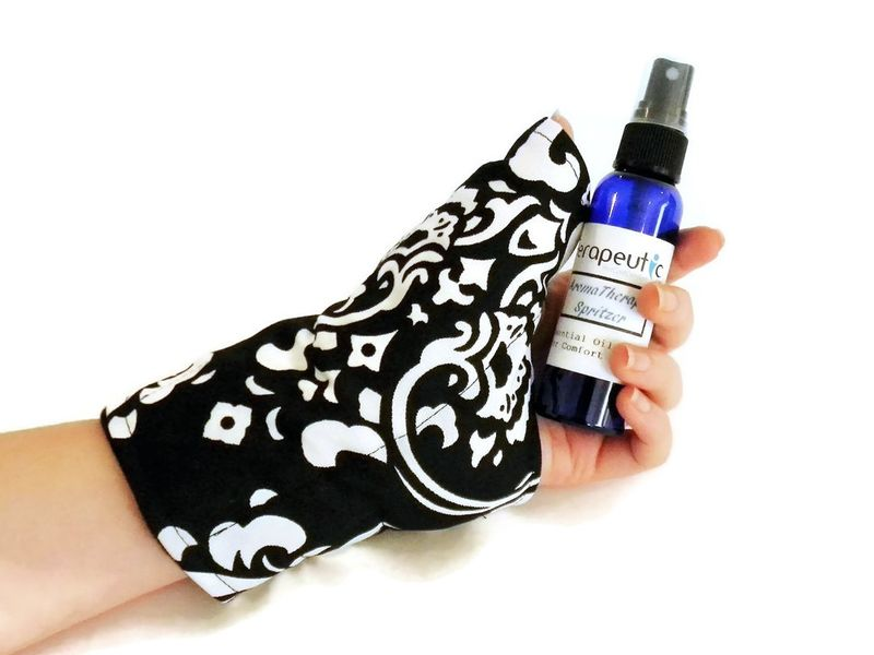 Thumb Wrap Wrist Heat Wraps Hot Cold Packs for Carpal