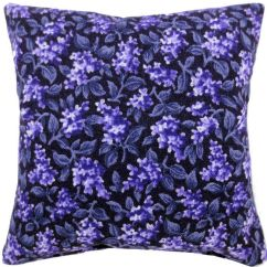Children S Stuffed Animal Chairs Pedicure Wholesale Usa Tooth Fairy Pillow, Black, Floral Print Fabric, Light Purple Heart Button Trim For Girls - Toy ...